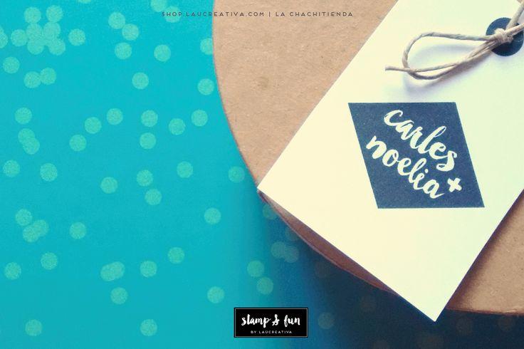 Sellos personalizados para tu boda | La Chachitienda