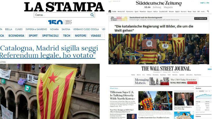Referéndum Catalunya 2017: Últimas noticias de las votaciones del 1-O