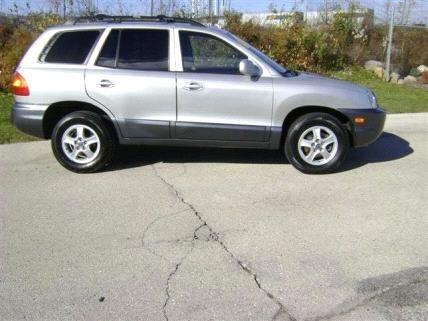 2004 Hyundai Santa Fe GLS - West Allis, WI 53227   CarSoup.com