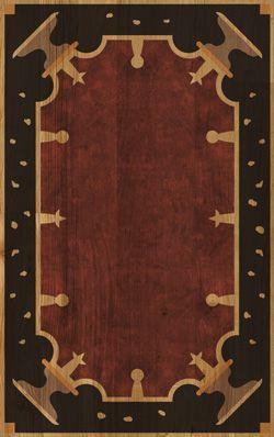 XILO1934 designed parquets 'Tappeti Volanti'. Design Davide Pizzigoni