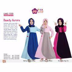 Little Mutif Girl 155/ Baju Muslim Anak/ Syar'i / Gamis / Hijab Fashion