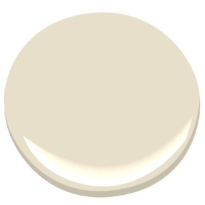 Benjamin Moore Natural Wicker: a soft, creamy neutral without reading too yellow: