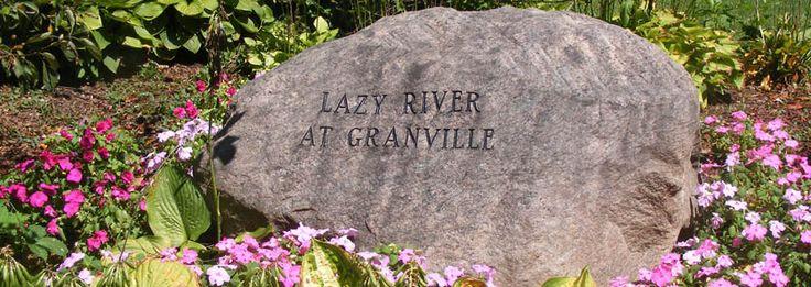 Lazy River at Granville Campground in Granville, Ohio