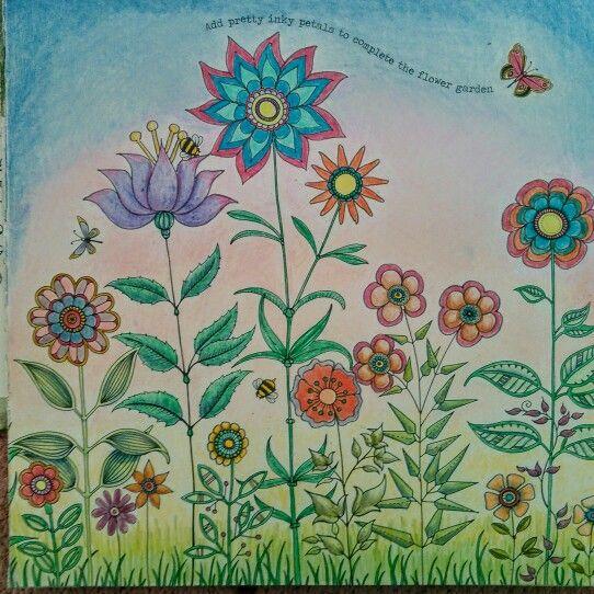 Secret Garden DIY Flowers Diy FlowersJohanna Basford GardenColoring BooksEnchanted