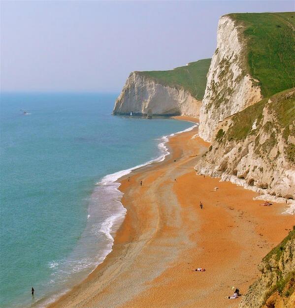 140 million year old Jurassic Coast, East Devon to Dorset, England.
