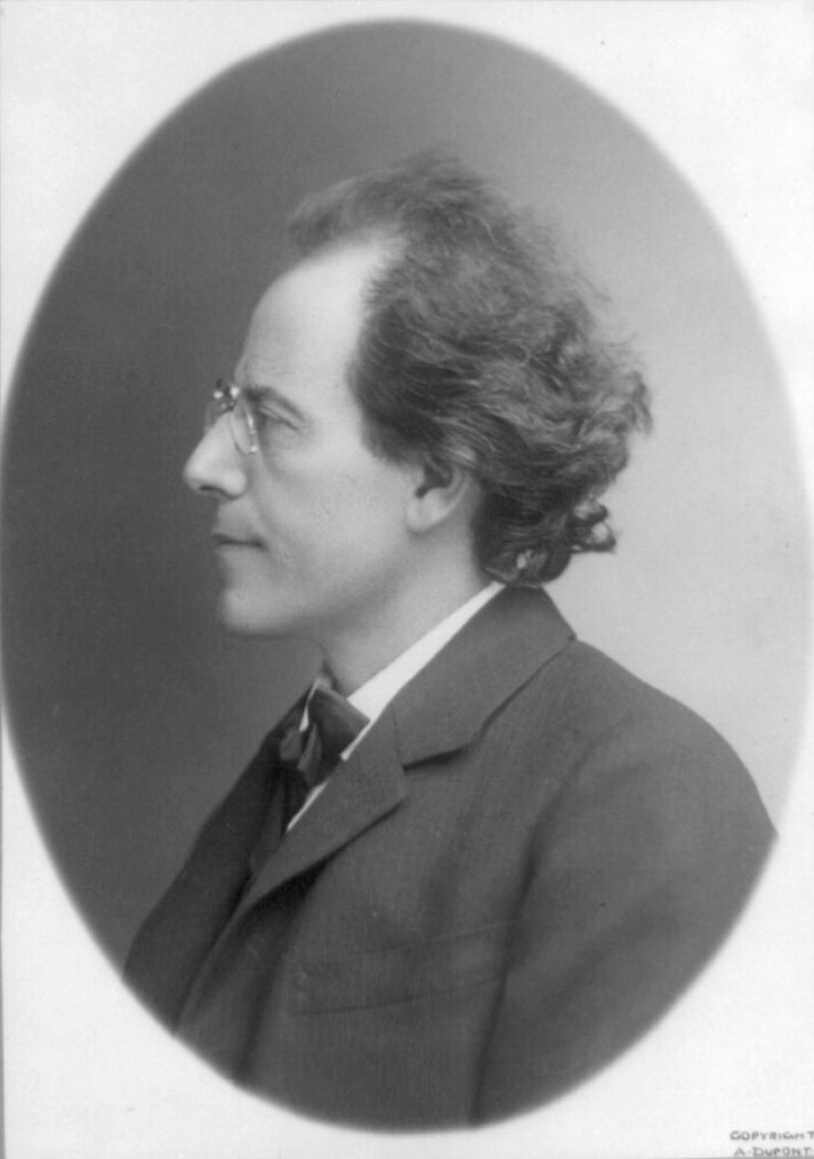 Composer Gustav Mahler,  1860-1911.  His works are profound and moving, often tragic.  One of his great masterpieces is his Fifth Symphony, 4th movement Adagietto.