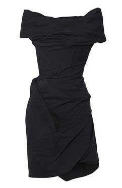 Vivienne Westwood Red Label tafetta corset dress