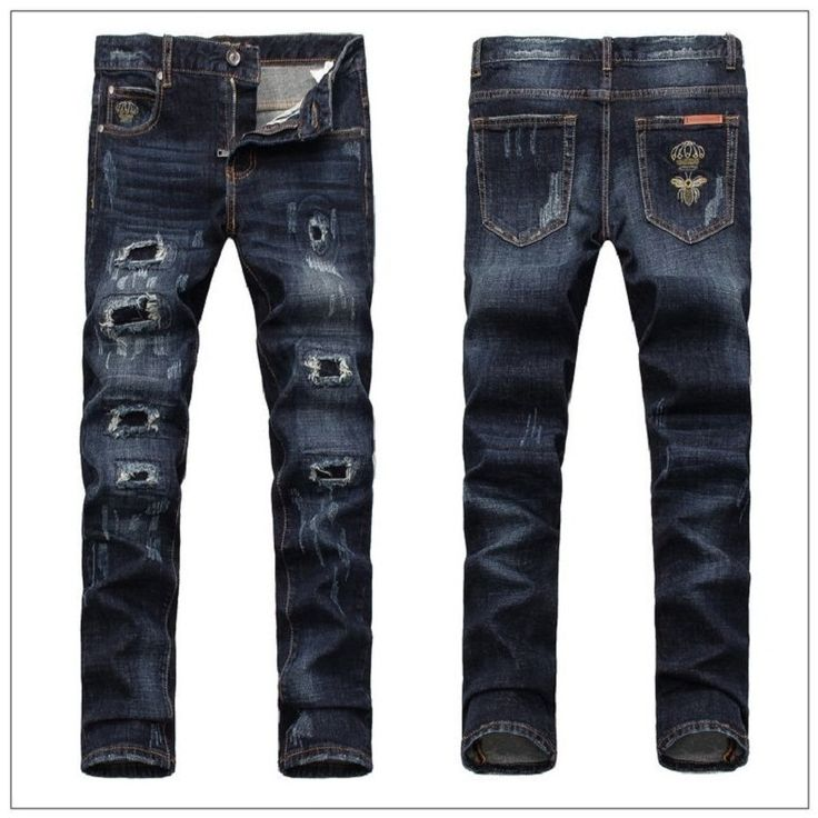 Find More Jeans Information about Hot 2015 fashion brand men's jeans casual Popular Hole washed cotton jeans High quality Slim skinny ripped jeans free shipping,High Quality jeans parts,China jeans for big thighs Suppliers, Cheap jeans xxxl from H&T  --  HOT AND TOP JEAN on Aliexpress.com