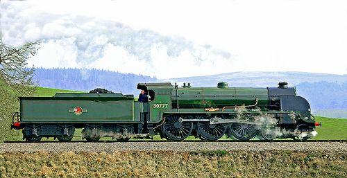Southern Railway, 'King Arthur' class 30777 Sir Lamiel.