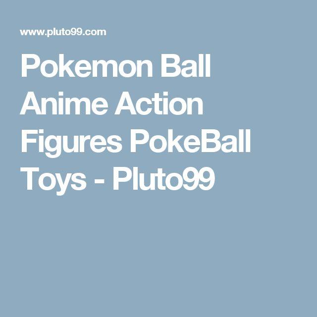 Pokemon Ball Anime Action Figures PokeBall Toys - Pluto99