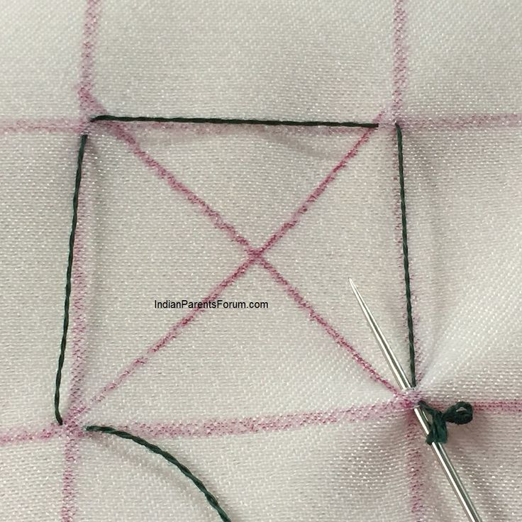 Canadian smocking tutorial - joining 4 points