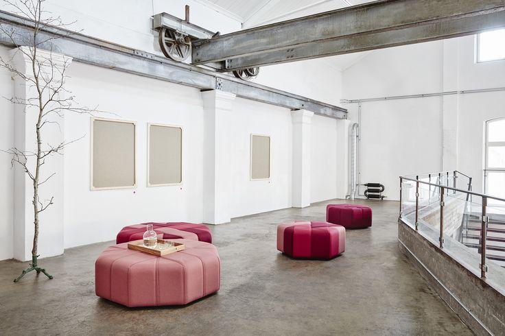 Ribbon bench, design: Mia Cullin | Styling: Katrin Bååth | Photo: Sara Landstedt