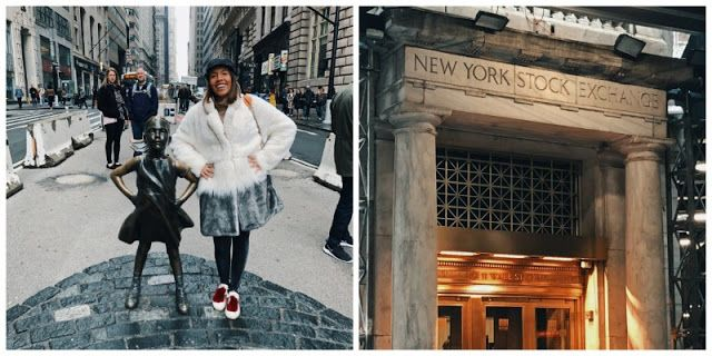 """72 HOURS TO VISIT New York LIKE A PRO! """"Head to Wall Street and then World Trade Center and the museum they have there!"""" #newyork #newyorkcityfeelings #nyc #manhattan #globetrotter #travel #travelblogger #traveltips #newyorktips #nytraveltips #instagrammable #instagramphotos #wallstreet #streetstyle #streetwear #newyorkfashion #nyguide #streetfashion #fashionblogger"""