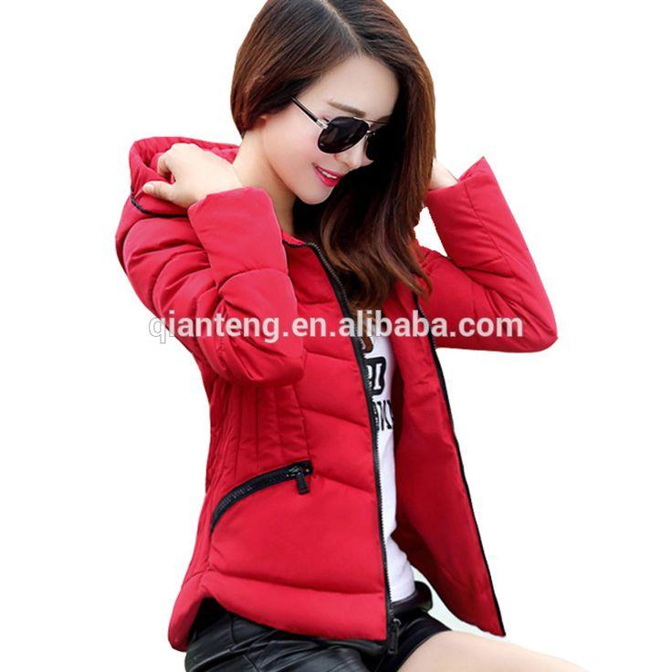 Check out this product on Alibaba.com App:Fashion OEM Bulk Fashion Slim Fake Down Cheap Winter Jacket Women, Polyester Fiber Filled Black Hooded Custom Puffer Jacket https://m.alibaba.com/RJvqam