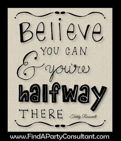 Just Believe You Can!
