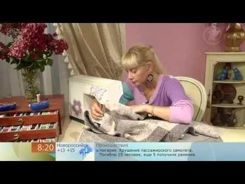Ольга никишичева.Пальто на скорую руку (Coat in a hurry) - YouTube