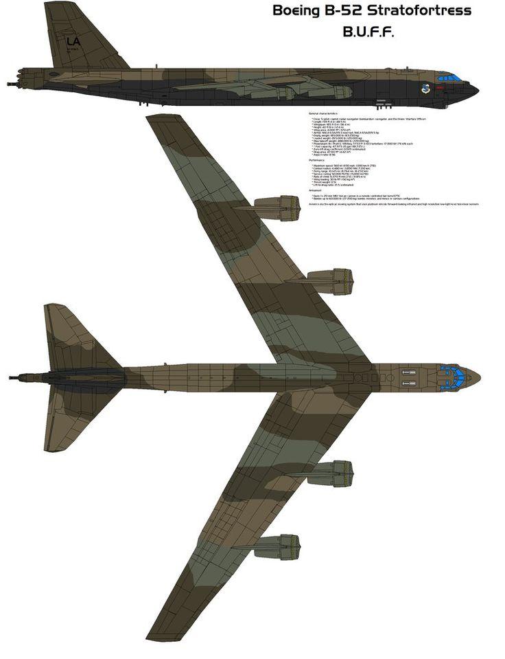 Boeing B-52 Stratofortress by bagera3005 on DeviantArt