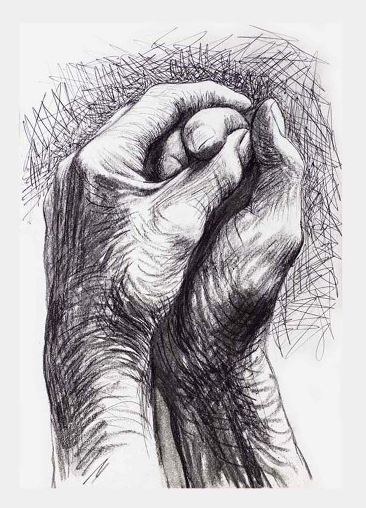 Cave to Canvas, alecshao: Henry Moore- The Artist's Hands, 1974