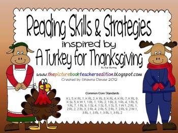 a turkey for thanksgiving by eve bunting writing activities