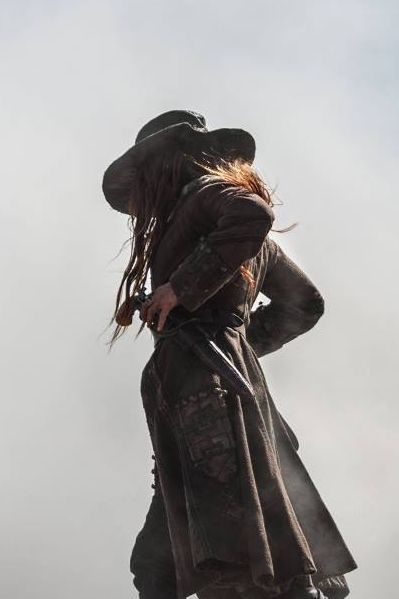 Clara Paget as Anne Bonny in 'Black Sails'