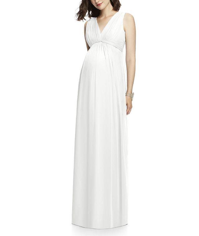 #trouwjurk voor zwangere bruiden
