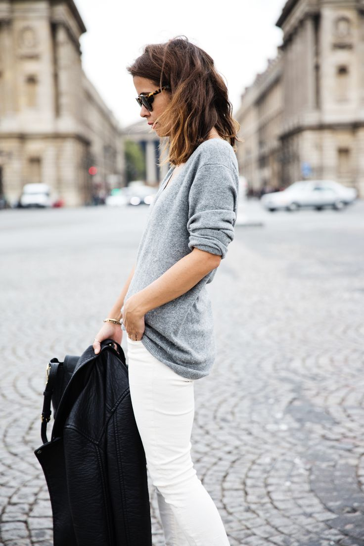 You CAN wear white pants in the Fall/Winter... Here's how.