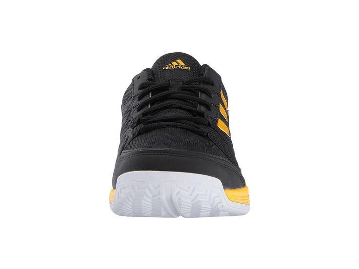 adidas Barricade Court Men's Tennis Shoes Core Black/Eqt Yellow/Night Metallic