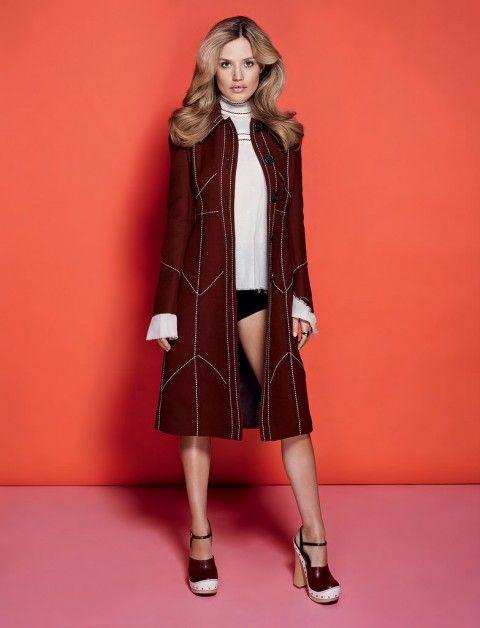 Джорджия Мэй Джаггер — Фотосессия для «Vogue» UA 2015
