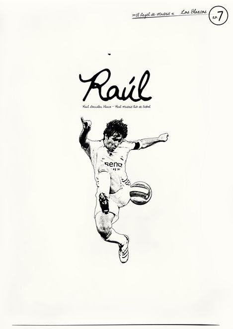 Raúl González (7), Real Madrid. Uno de los mejores del mundo, sin importar lo que digan.