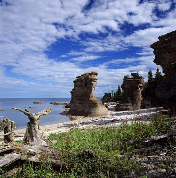 Réserve de parc national de l'Archipel-de-Mingan.