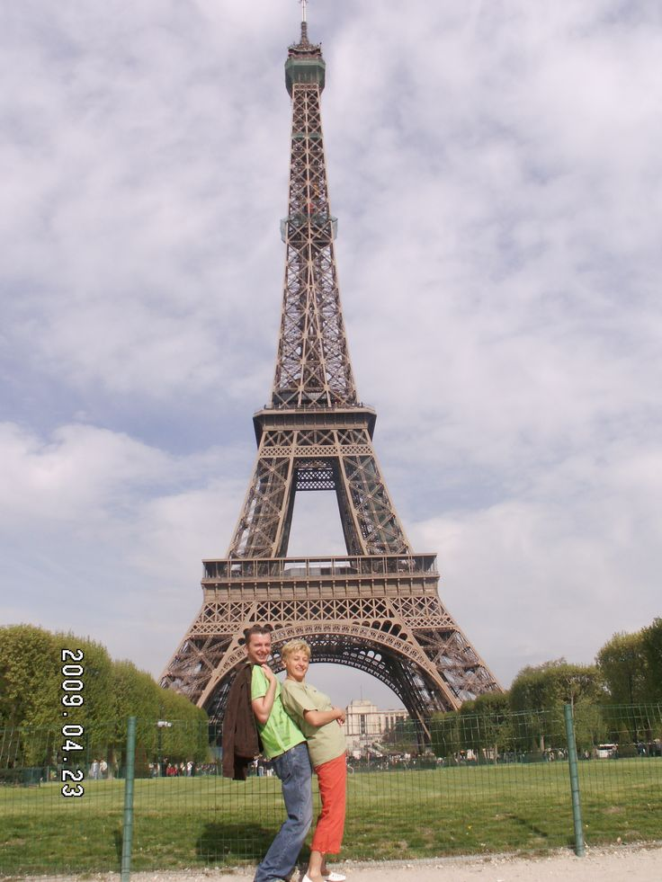 With the Old Lady in Paris.