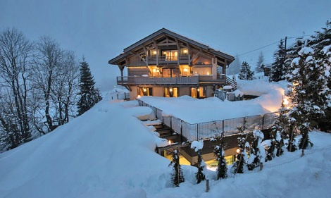 28 best luxury chalets images on pinterest chalets vacation rentals and frances o 39 connor - Chalet de luxe megeve ...
