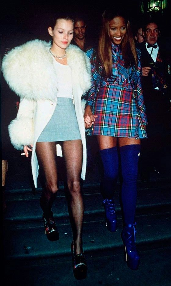 : Naomicampbell, 90 S, Style, Fashion Models, 90S Fashion, Katemoss, Kate Moss, Naomi Campbell, Supermodels