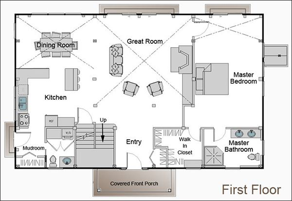 253 best barndominium plans images on pinterest pole for 40x50 floor plans