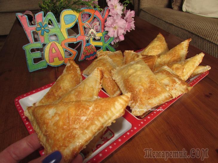 Хрустящие конвертики из тостового хлеба