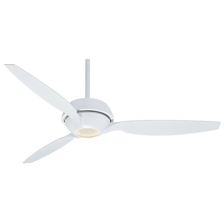 Casablanca fan riello snow white led ceiling fan with light at destination lighting