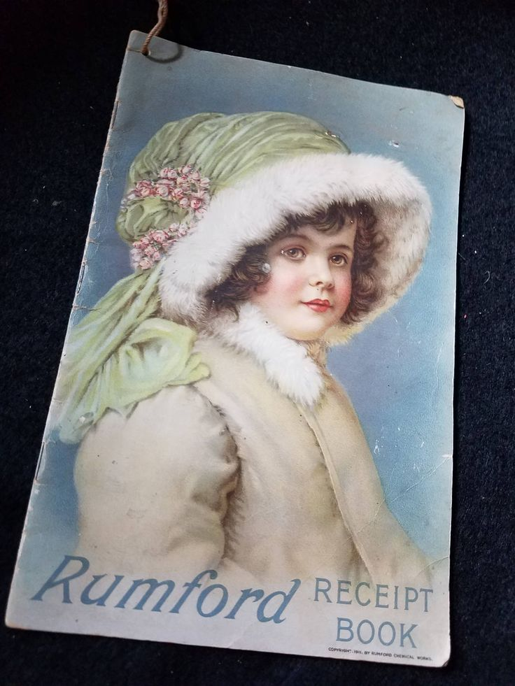 1911/Rumford Baking Powder/Recipe Book/ by MermaidMemoirs on Etsy