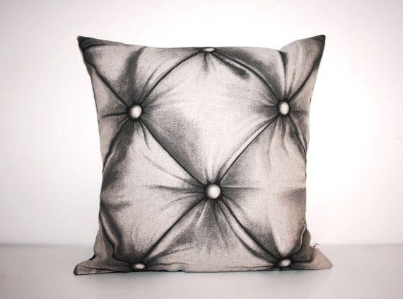 Imitation Fabric chesterfield sofa cushion cover 40x40cm 16x16inches
