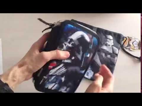Star Wars penalhus og snackpose