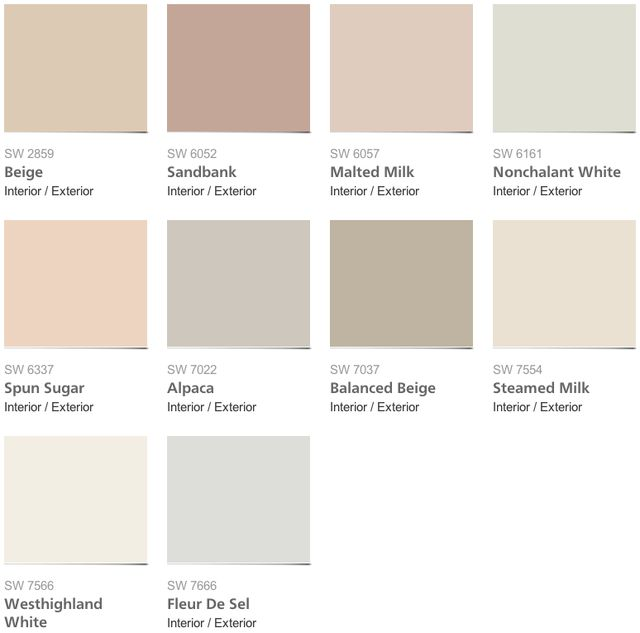 Sherwin-Williams 2014 Color Forecast Slideshow: The Colors of Sherwin-Williams Diaphanous Palette
