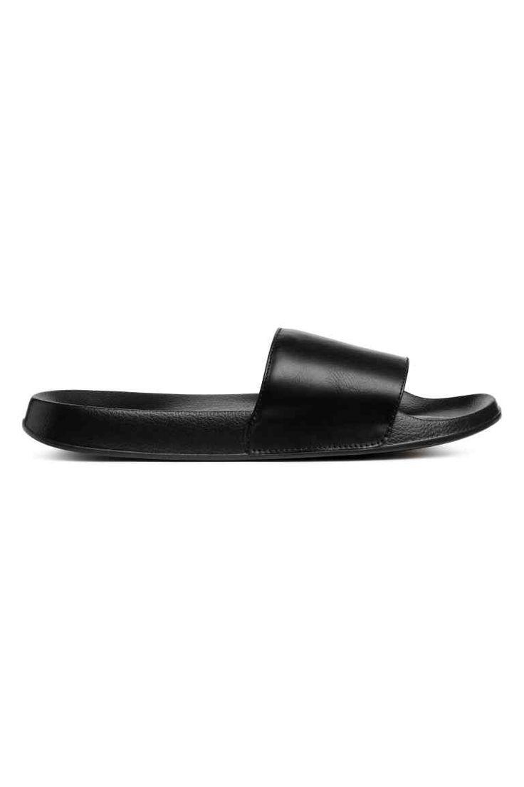 Šľapky - čierna - ŽENY | H&M SK 1