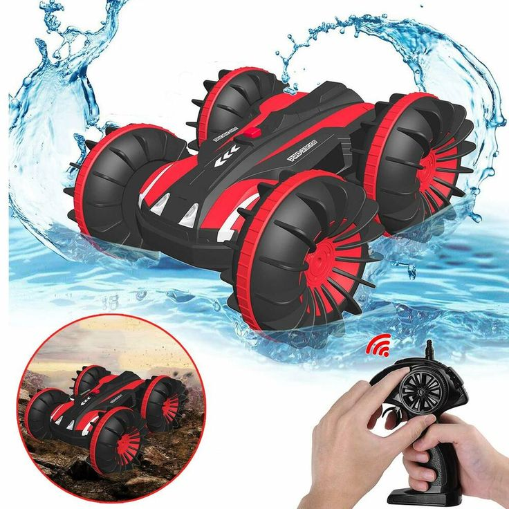 Amphibious Remote Control Car for Kids and Adults 2.4 GHz