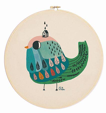 pájaro lluevia en www.pajaritodemimbre.com