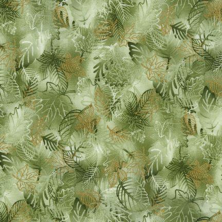 Robert Kaufman Fabrics: EYJM-6640-196 HARVES from Nature's Brilliance 4
