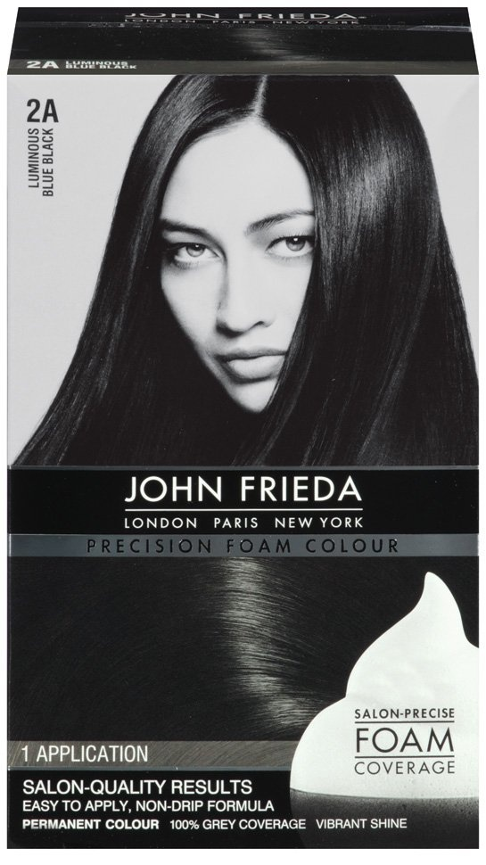 In love with the foam hair dye!! Way less messy than any other hair dye I've used and the John Frieda I think smells not as harsh as other hair dyes
