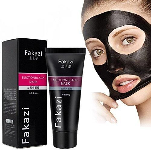 MY LITTLE BEAUTY Blackhead Remover Cream Deep Clean Purifying Peel Acne Black Mud Face Mask Beauty Mask For Facial Care