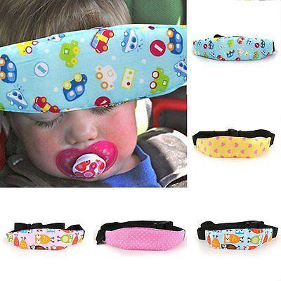 Seguridad Bebé Niños Cochecito Coche Asiento de Auto para dormir siesta ayuda cabeza fijar Soporte Holder Cinturón