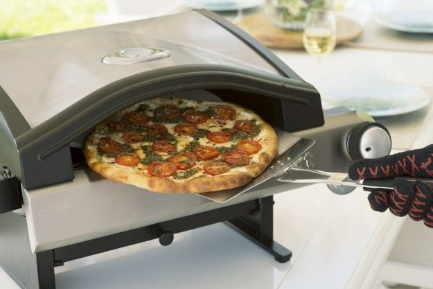 A tabletop pizza oven for making healthier, veggie-friendly versions of your favorite food. | 21 Things That Will Make Cooking And Prepping Vegetables So Much Easier