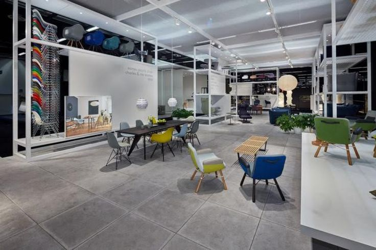 PANELS for Vitra Home Collection showcase at imm cologne furniture fair 2016 in Cologne, Germany.