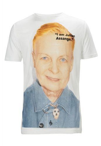"""I am Julian Assange"""" T-Shirt   Vivienne Westwood"""